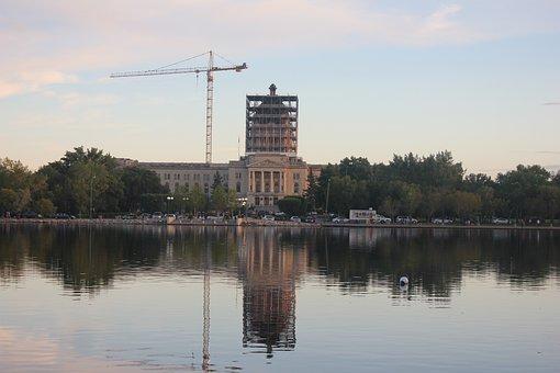 Regina, Saskatchewan, Ca, Canada, Legislative, Canadian