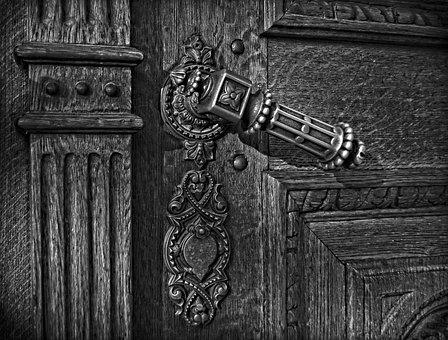 Door, Old Door, Church, Old Church, Cathedral, Rust