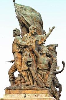 Statue, Commemorate, Iron, Monument