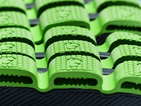 Sole, Green, Rubber Lining, Suspension, Damping, Rubber
