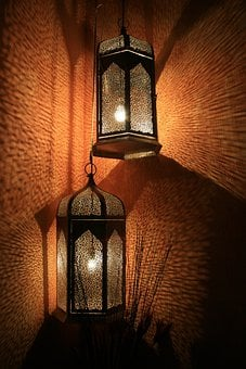 Lanterns, Lamps, Decorative, Diffused Light
