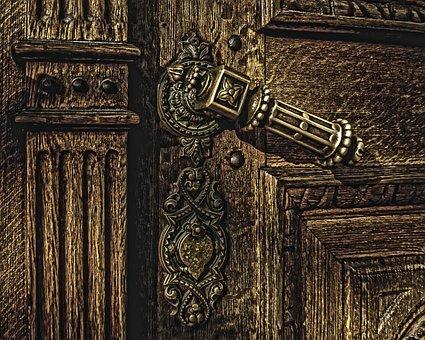 Door, Old Door, Church, Old Church, Rust, Iron
