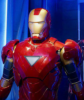 Ironman, Iron, One, Suit, Film, Strong, Metal, Robot