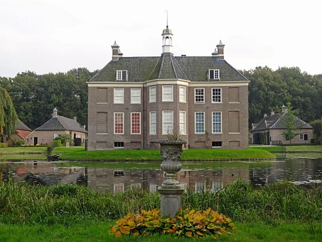 Huis Den Berg, Dalfsen, House, Castle, Palace, Monument