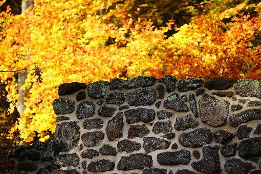 Wall, Iron Ore, Klump, Grotto, Ruin, Castle Park