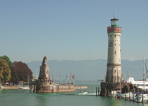 Lindau, Lake Constance, Lighthouse, Port