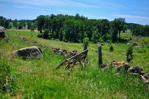 Nature, Gettysburg, Triangular Field, Summer