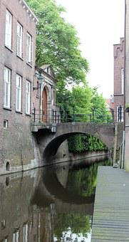 Den Bosch, Water, Canal, Historical Center, Netherlands