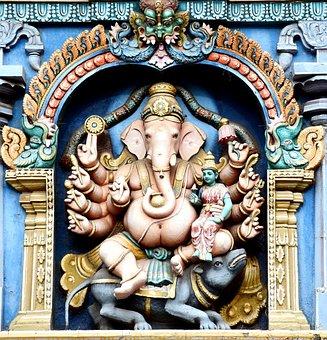 Ganesha, Parvathi Devi, Madurai, Meenakshi Amman Temple