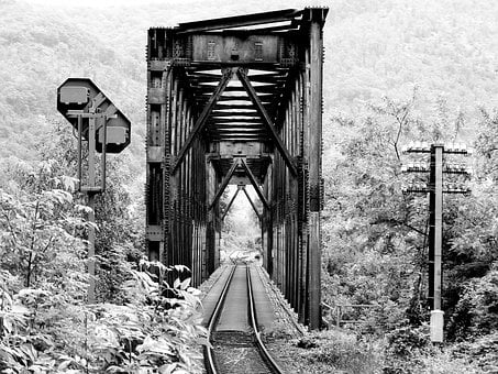 Bridge, Railway Bridge, Rail, Rail Track, Railroad