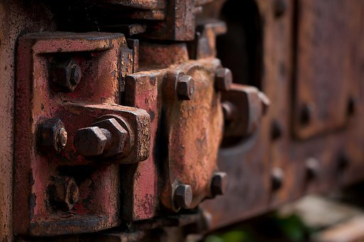 Stainless, Wagon, Trains, Railway, Old, Rusted, Screw