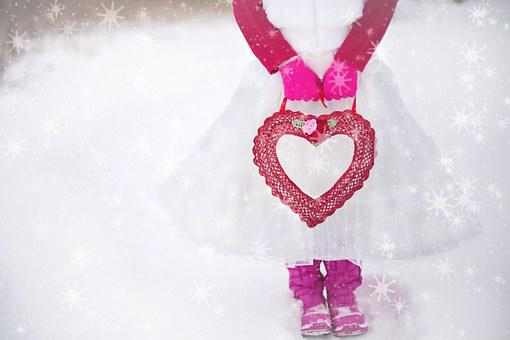 Valentine, Heart, Romantic, Love, Girl, Tutu