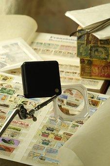 Postage Stamps, Philatelist, Collector, Album