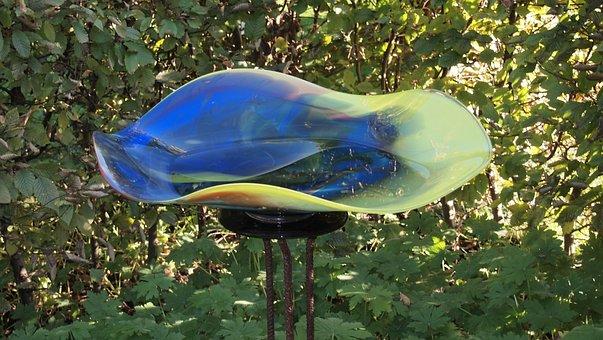 Glass Bowl, Art, Glassblowing, Glass Blowing