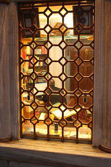 Window, Book, Koran, Book Store, Library, Arabic