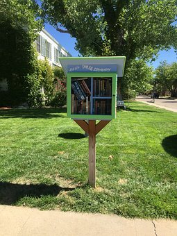 Little Free Library, Rotary, Books