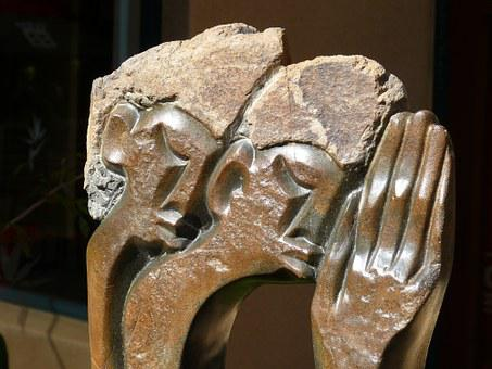 South Africa, Cape Town, Art, Fig, Sculpture, African