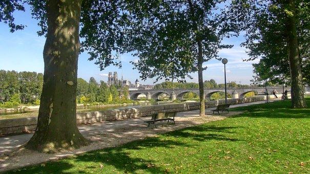 Bridge, Orleans, Cathedral, Loire, Loiret, Loire Valley