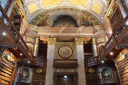 Vienna, National Library, Ceremonial Hall