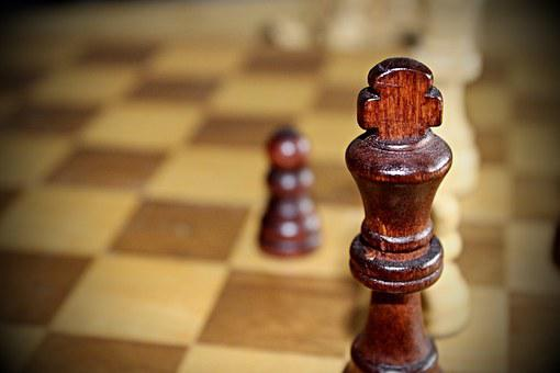 Chess, Wood, Old, Chess Board, Chess Pieces, Chess Game