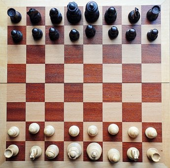 Chess, Chess Board, Chess Pieces, Checkmated