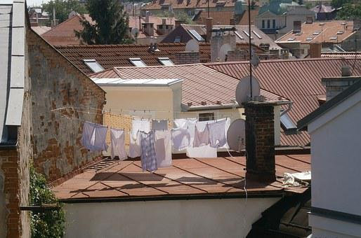 Roof, Clothes, Old House, The Fringes, Sheet