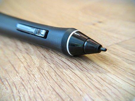 Stylus, Pen, Wacom, Graphics, Computer, Web Design