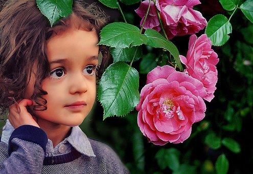 Portrait, The Little Girl, Child, Eyes, Face