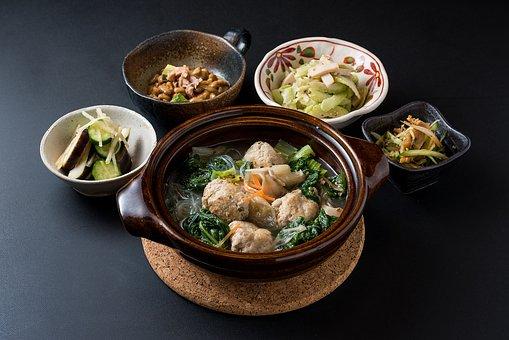 Food, Cuisine, Japanese Food, Pot, Pickles, Soup