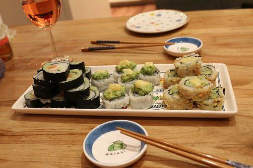 Diner, Sushi, Home Made, Japanese, Food