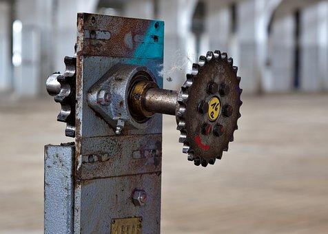 Gear, Mechanics, Industry, Gears, Transmission, Iron