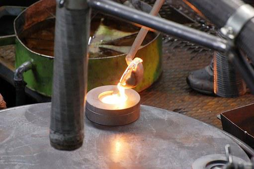 Glass Blower, Glass Blowing, Glass, Liquid