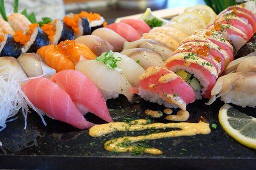 Sushi, Fish, Food, Japanesefood, Japanese, Seafood