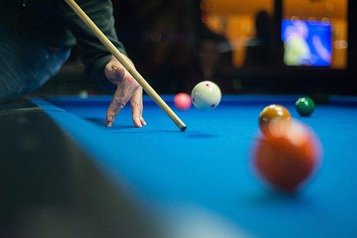 Pool, Cue, Jump Shot, Game, Table, Ball, Billiard
