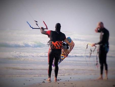 Kiteboarding, Water Sports, Sport, Wind, Kite Surfing