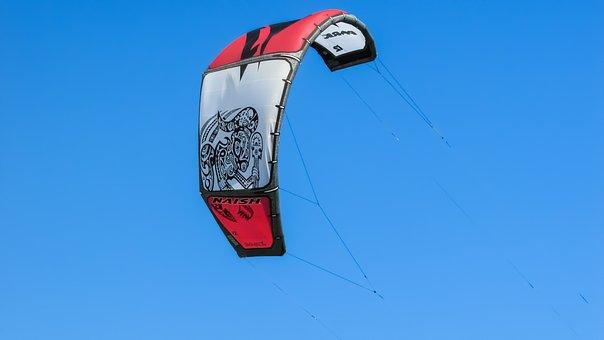 Kite, Surf, Sport, Sea, Extreme, Wind, Kitesurfing, Fun