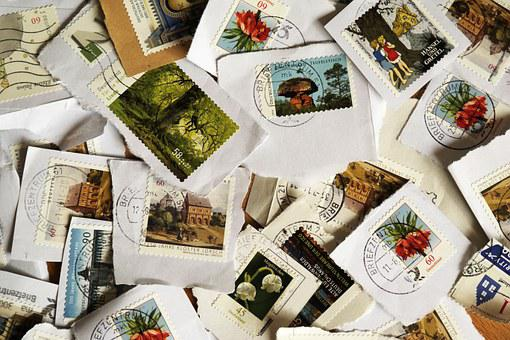 Postage Stamps, Post, Leave, Letters, Porto, Stamp