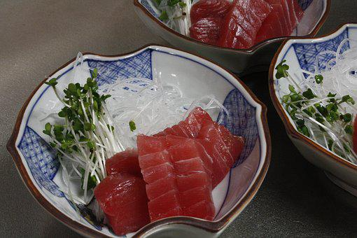 Japan, Sushi, Salmon, Food, Healthy, Japanese, Meal