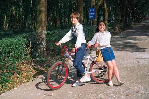 Bike, University Student, Ningbo University, Girls