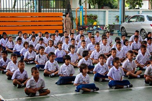 School, Appeal, Students, Obedience, Elementary School