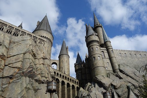 Harry Potter, Castle, Osaka, Universal Studios