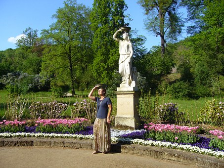 Castle Park, Pillnitz, Sculpture, Assembly, Sculptor