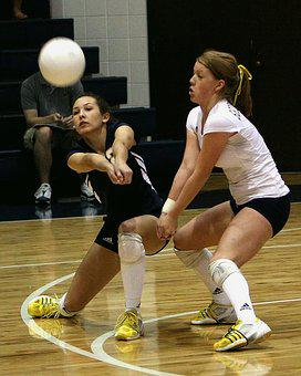 Volleyball, Female, Players, Volley, Girl, Athletic
