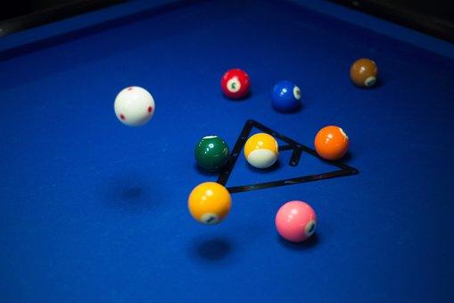 Pool, Billiards, Game, Sport, Ball, Table, Leisure