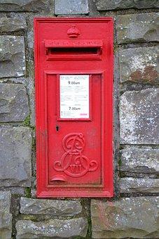 Letter Box, Red, Postal, Mailbox, Box, Letter, Mail