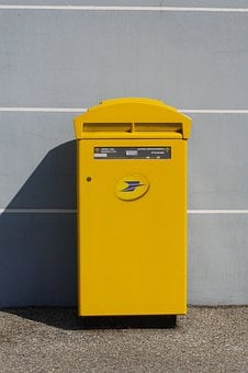 Mailbox, Postbox, French Post, Letter, Postal