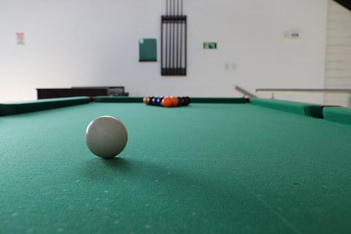 Pool Table, Game, Sport, Friends, Recreation, Bar