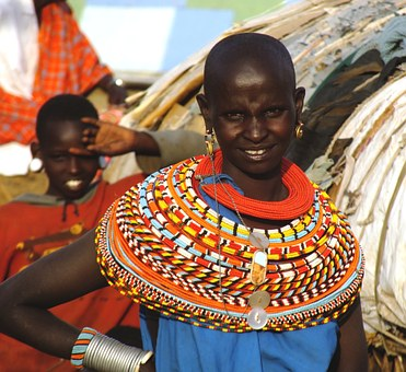 African Woman, Samburu Tribe, Kenya, African Female