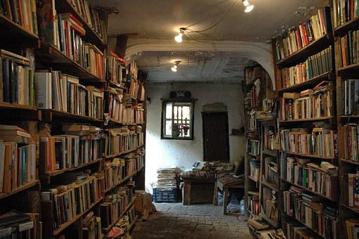 Library, Books, Syria, Middle Eastern, Second Hand