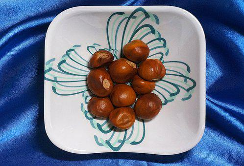 Japanese Horse Chestnuts, Horse Chestnut, Seed, Nut